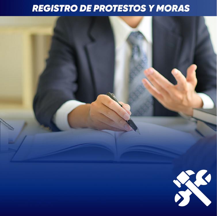 Registro de Protestos y Moras